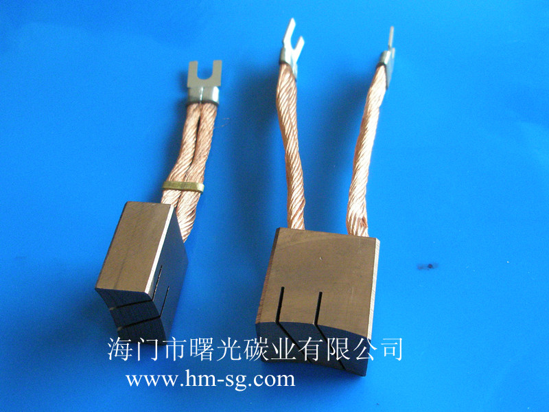 carbon brush for DC motors,electric machine