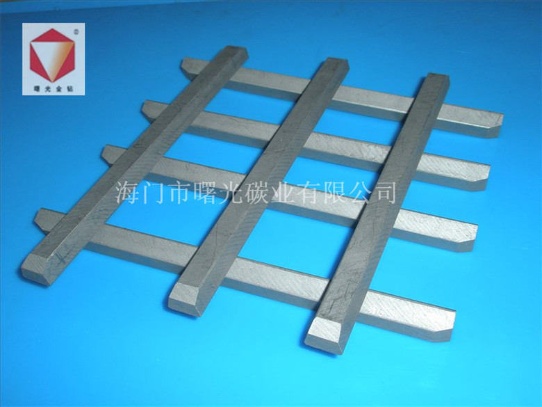 graphite strip for printing and textile