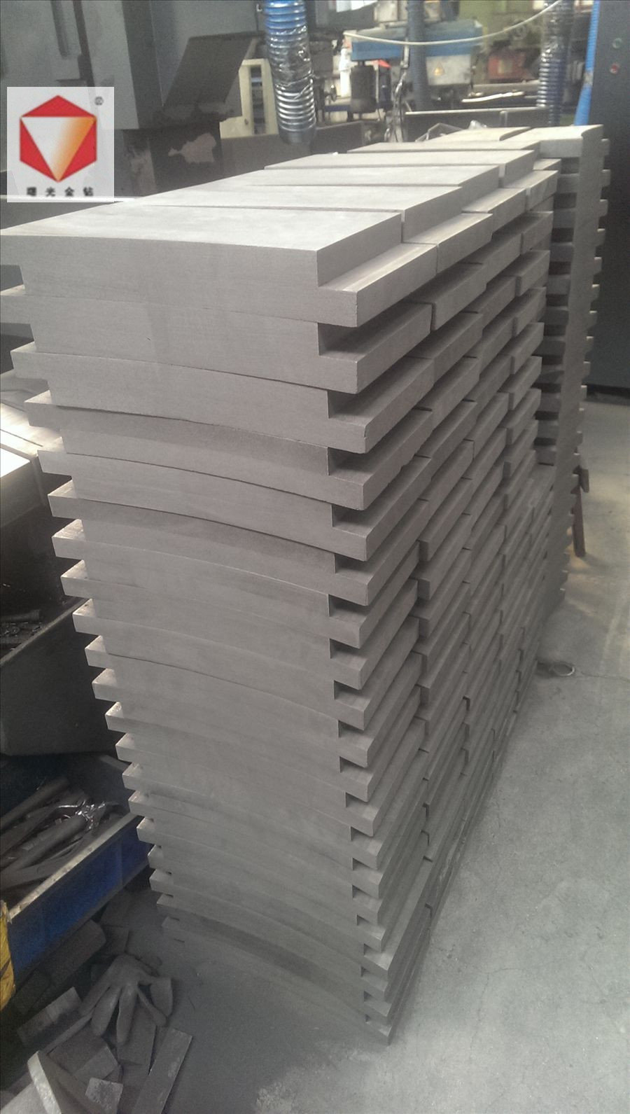 carbon block for rotary kiln